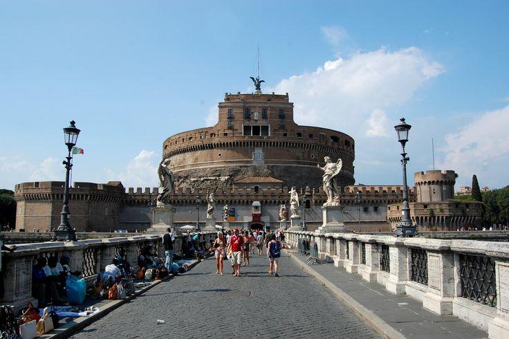 Střípky z Apeninského poloostrova (4), Řím, Andělský hrad, http://www.styl-zivota.cz/cestovani/stripky-z-apeninskeho-poloostrova-4-cast, foto: Richard Spitzer