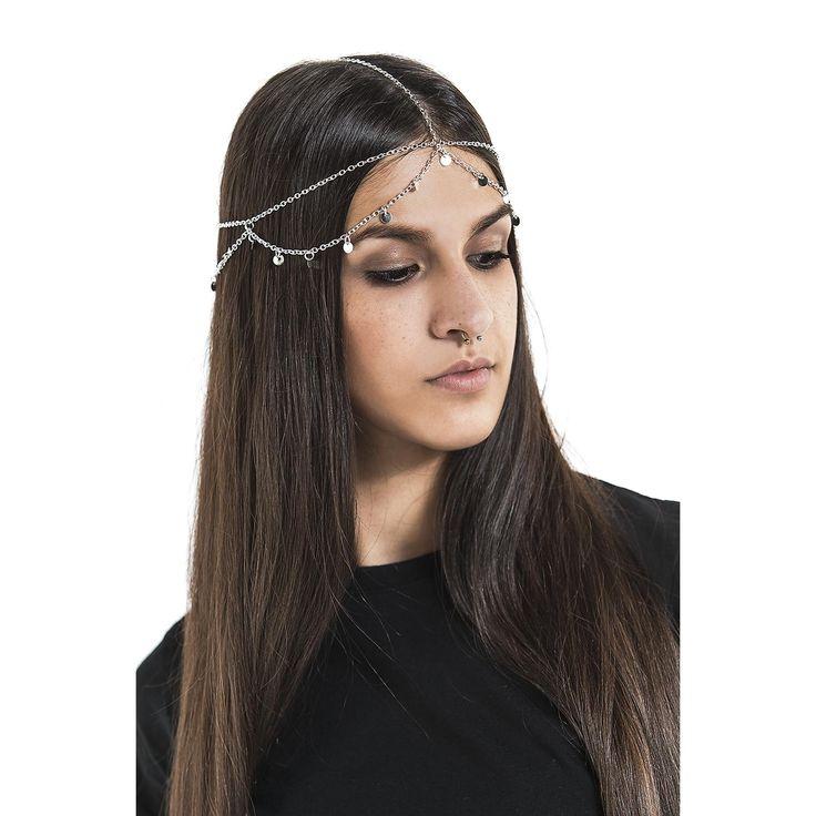 Silver Plates Headpiece Hårband »Silver Plates Headpiece« | Köp i Sweden Rock Shop | Mer Casual Hår-accessoarer finns online ✓ Oslagbara priser!