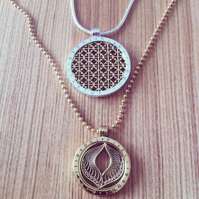 Sometimes more is better! Gorgeous image of our medium gold #Protection coin with the large You're My Target coin! -xx-