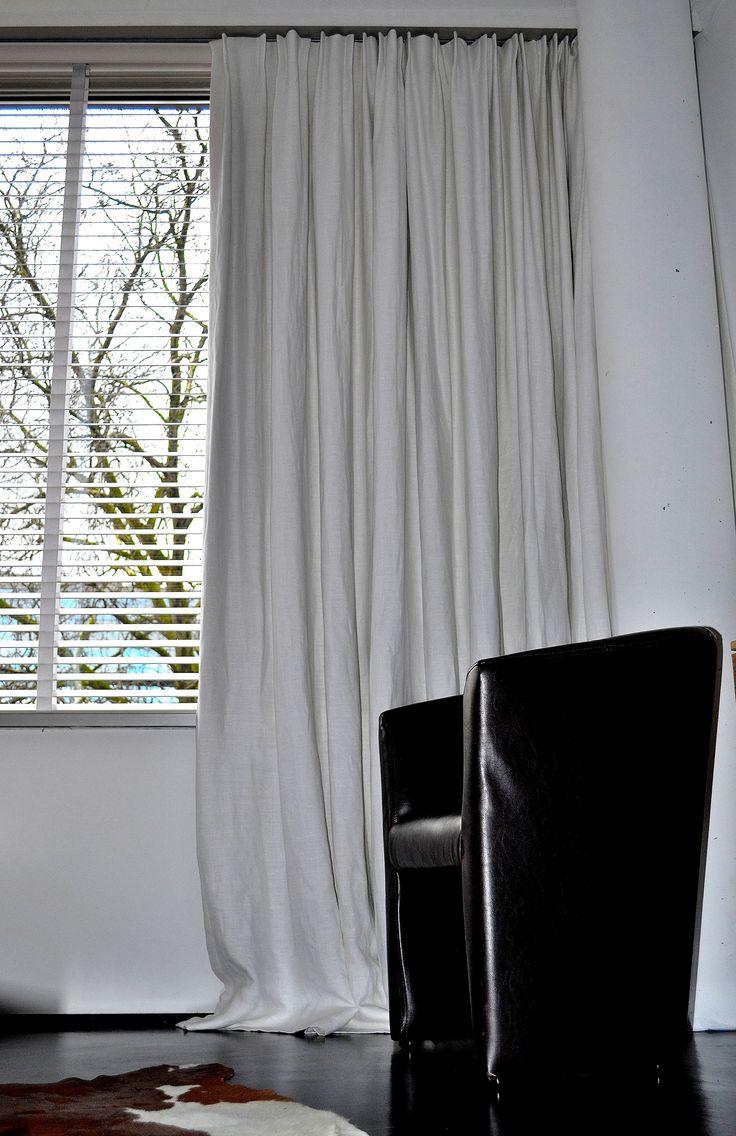 ... Slaapkamer gordijnen, Wit grijze slaapkamers en Wit grijze slaapkamer