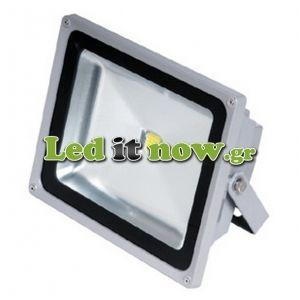 LED Προβολέας 50 Watt 220 Volt 4500lm 6000K