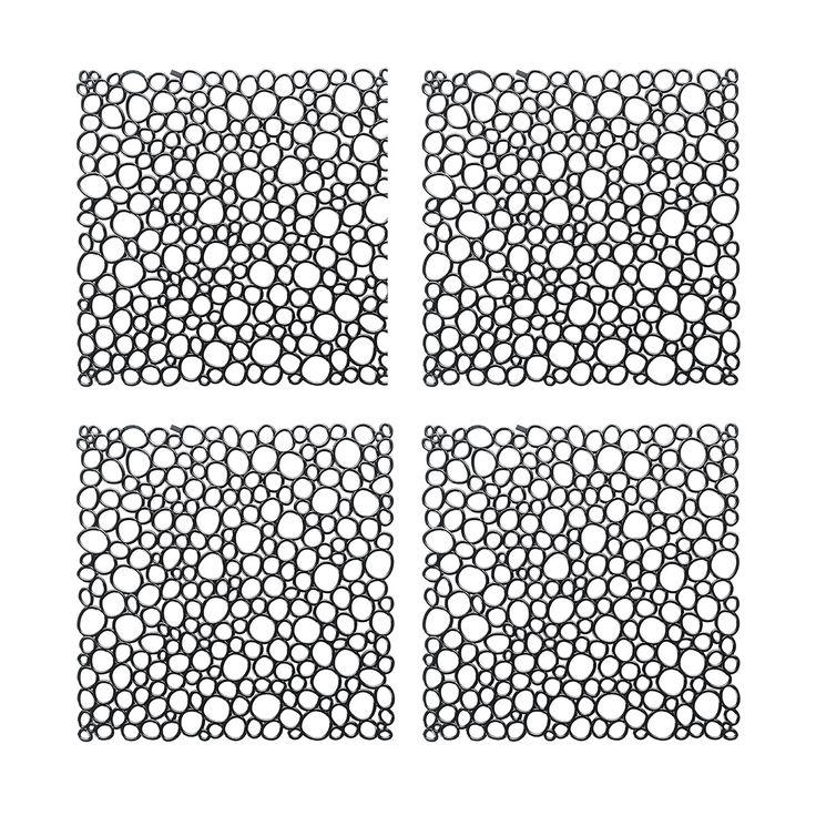 Koziol Dekoelement Oxygen 4er-Set solid schwarz online kaufen ➜ Bestellen Sie Dekoelement Oxygen 4er-Set solid schwarz für nur 9,07€ im design3000.de Online Shop - versandkostenfreie Lieferung ab €!