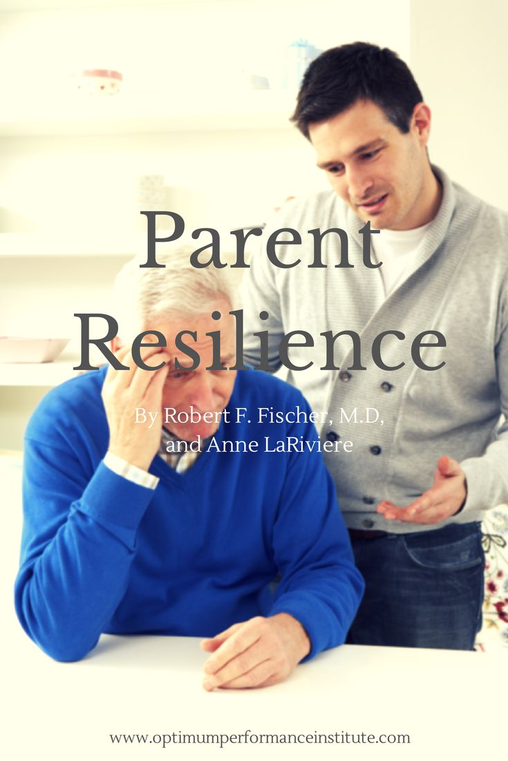 Parent Resilience MAY 31, 2004 BY DR. ROBERT FISCHER    Email Print The following article appeared in the May, 2004, issue of Woodbury Reports and on their website,  StrugglingTeens.com. - #LifeCoaching  - www.optimumperformanceinstitute.com - If you or someone you know needs help, please do not hesitate to Call Us Toll Free: (888) 558-0617