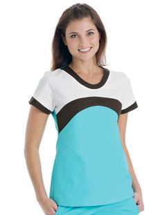 Uniforms 6211 Tri-Tone Stretch Tunic