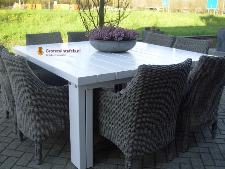 17 best images about tuintafel steigerhout on pinterest for Couch 6 personen