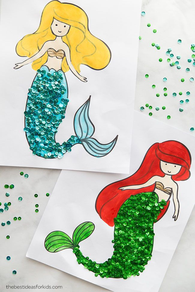 Mermaid Coloring Pages Mermaid Crafts Mermaid Coloring Pages
