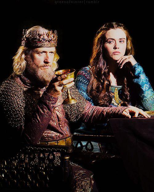 """ King Ecbert and Princess Judith   Vikings Season 4 First Look """