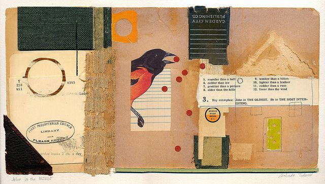 mixed media collage   -  John is the OLDEST by melindatidwell, via FlickrCollage Cut, Melinda Tidwell, Oldest Melindatidwellcom, Collage Art, Art Inspiration, Art Journals, Collage Inspiration, Mixed Media Collage, Art Pap