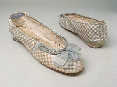 Evening shoes, United Kingdom, England Date: 1800-1810