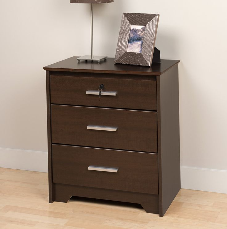 Restyling a Espresso Nightstand - http://bedroomdecor.backtobosnia.com/restyling-a-espresso-nightstand/ : #Nightstands Espresso nightstand – Restyling a bedside table can instantly give your bedroom an updated look. A coat of paint or a new stain can be combined with embellishments to make your old furniture look new and interesting again. Decorate nightstand with hand painted or handmade paper decoupage...