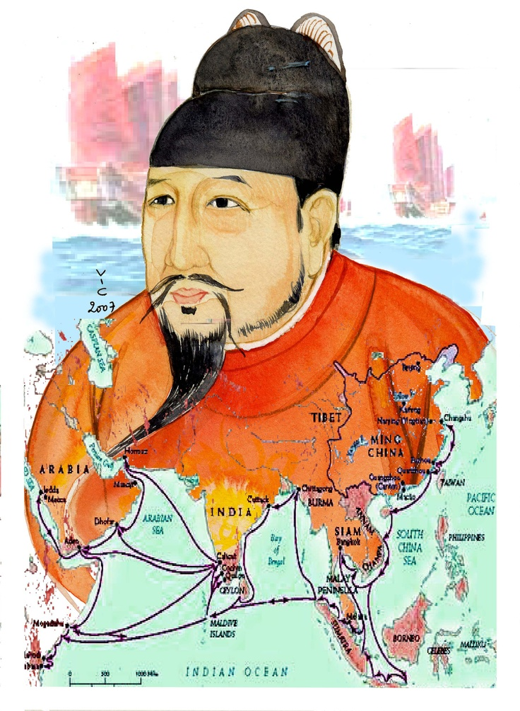 Zheng He and his voyages. | Ming Dynasty in 2019 ...