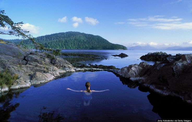 Haida Gwaii Is Canada's Best Kept Secret - Then relax and go for a swim in a natural hot spring.