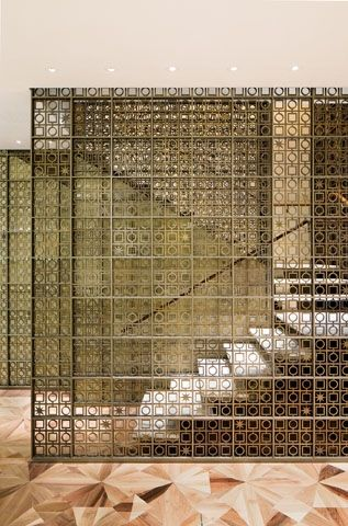peter marino staircase chanel - Google Search