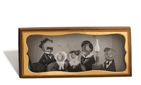 LOUIS DAGUERRE GOOGLE DOODLE: Artful logo honors the French inventor who revolutionized photography - Comic Riffs - The Washington Post
