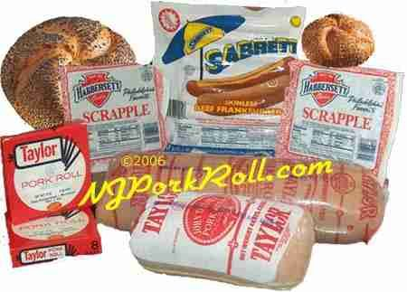 Pork Roll! Also known as Taylor Ham! Best served on a hard roll with cheese and egg.