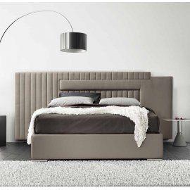 Мягкая двуспальная кровать Big Space сделано в Италии Stilfar