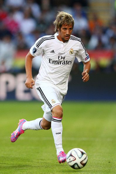 Fabio Coentrao - Real Madrid v Sevilla, 12th August 2014 - UEFA Super Cup