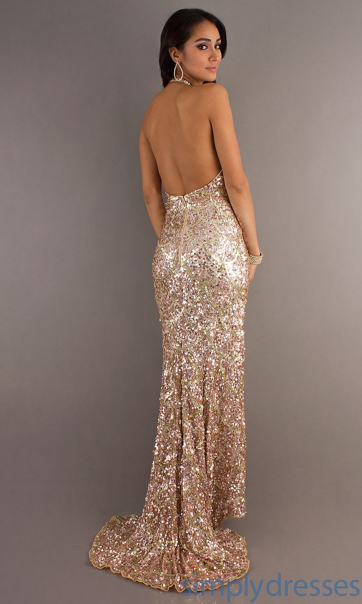 fc9aea45f Champagne Sequin Dress