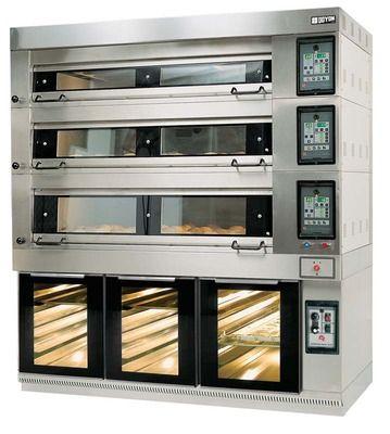 DOYON: Artisan Stone Deck Bakery Oven.