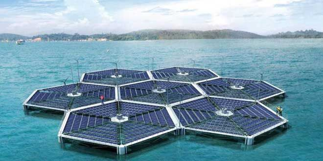 Floating Solar Power Plants To Become A Reality - http://www.huffingtonpost.com/entry/floating-solar-power-plan_b_9816082.html?section=india #solar #power #sustainableenergy