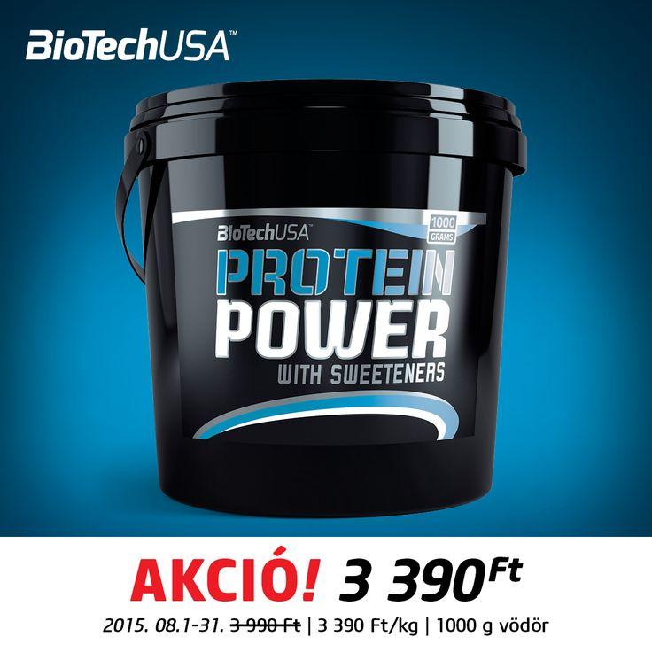 IZOMÉPÍTÉS MESTERFOKON!  A Biotech USA Allee most egy verhetetlen ajánlattal igyekszik a sportolók kedvében járni: a Protein Power 400g kiszerelésű fehérjeport augusztusban kedvezményes áron, 3.990 Ft helyett 3.390 Ft-ért vásárolható meg üzletünkben. Élj a lehetőséggel, és építs profi sportolókat megszégyenítő izomzatot! #biotechusa #allee #proteinpower
