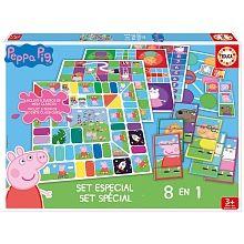 8 jeux en 1 classiques de Peppa Pig