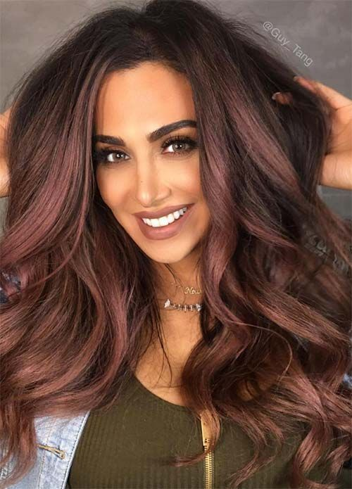 Color Hairstyles best 25 summer hair ideas on pinterest balayage baylage brunette and balyage hair 100 Dark Hair Colors Black Brown Red Dark Blonde Shades
