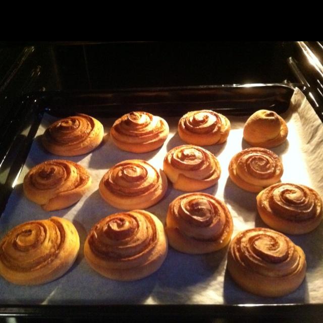 Cinnamom rolls, yummm