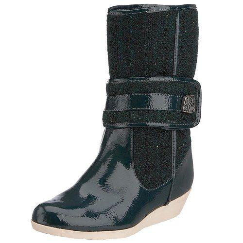 Miss Sixty Women's Monia Boot Dark Green Q00885_WP9399_E03260 4 UK