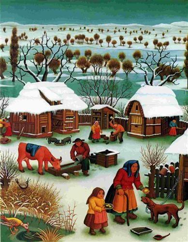 Winter day - Ivan Generalic