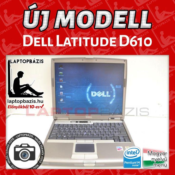 Dell Latitude D610 http://laptopbazis.hu/termek/dell-latitude-d610-laptop-intel-pentium-m-processzor-141-lcd-kijelzo-wifi-cd-rom/592