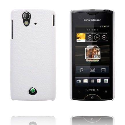 Croco (Valkoinen) Sony Ericsson Xperia Ray Suojakuori