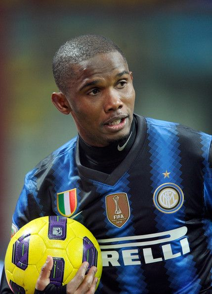 samuel eto'o | Samuel Eto'o Samuel Eto'o of Inter Milan during the Serie A match ...