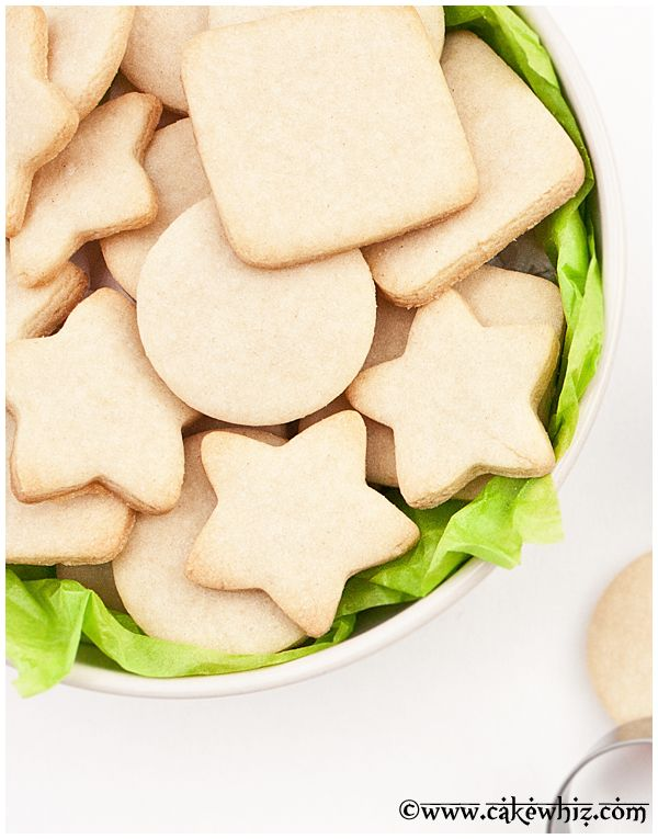 Learn to make a small batch of sugar cookies recipe. This easy sugar cookie recipe requires no chilling. The cookies hold their shape and taste great.: