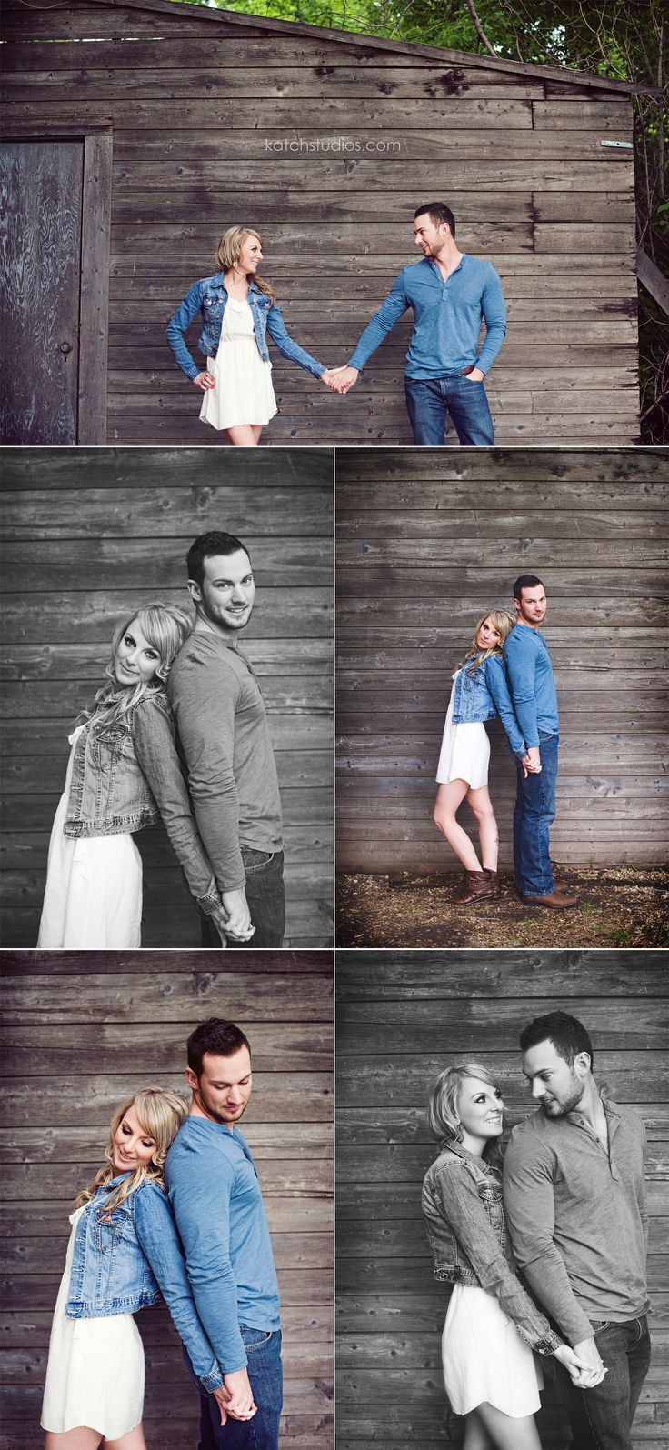 Many options from 1 basic pose engagement posing