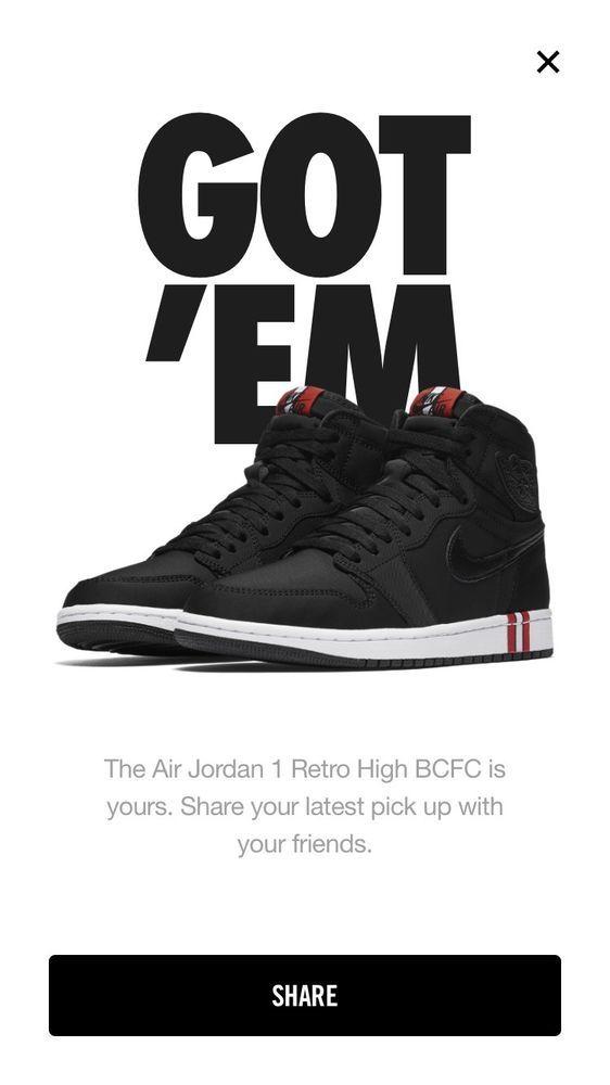 brand new 2d16e 9ce93 Nike Air Jordan 1 Retro Hi OG BCFC PSG #fashion #clothing ...