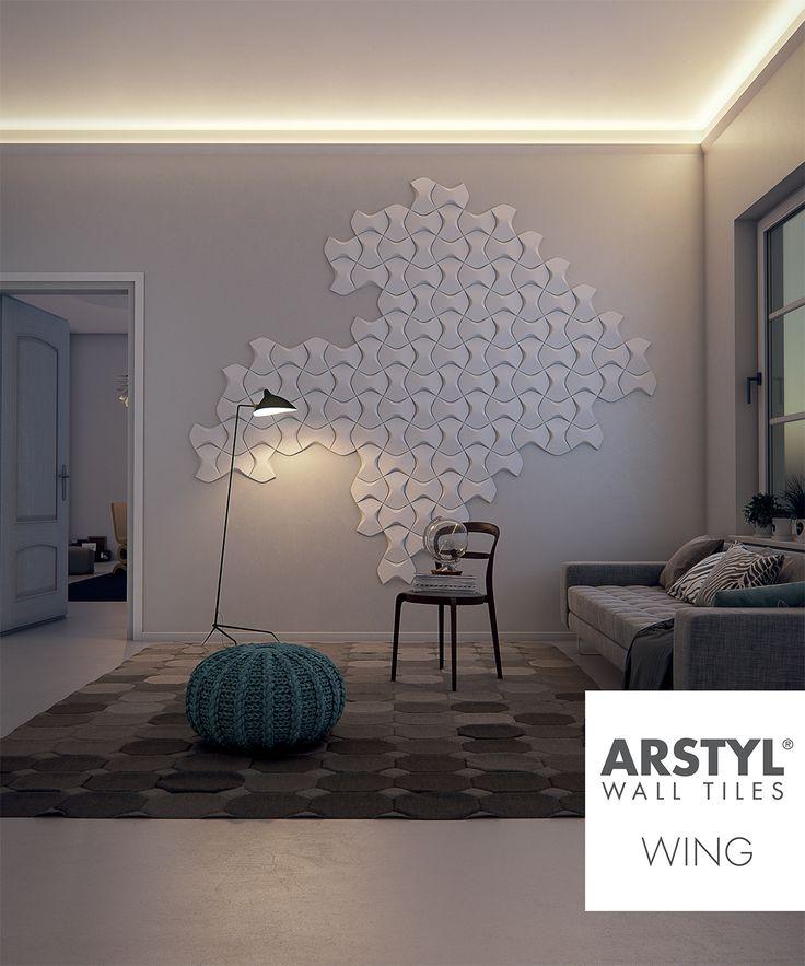 ARSTYL Wall Tiles WING livingroom 27 best