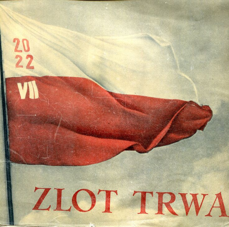 """""""Zlot trwa"""" Published by Wydawnictwo Iskry 1952"""