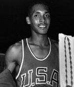 Lee Quincy Calhoun, Olympic Gold Medalist, the first athlete to win the 110m hurdles at two different Olympics, was born in Laurel (Jones County).