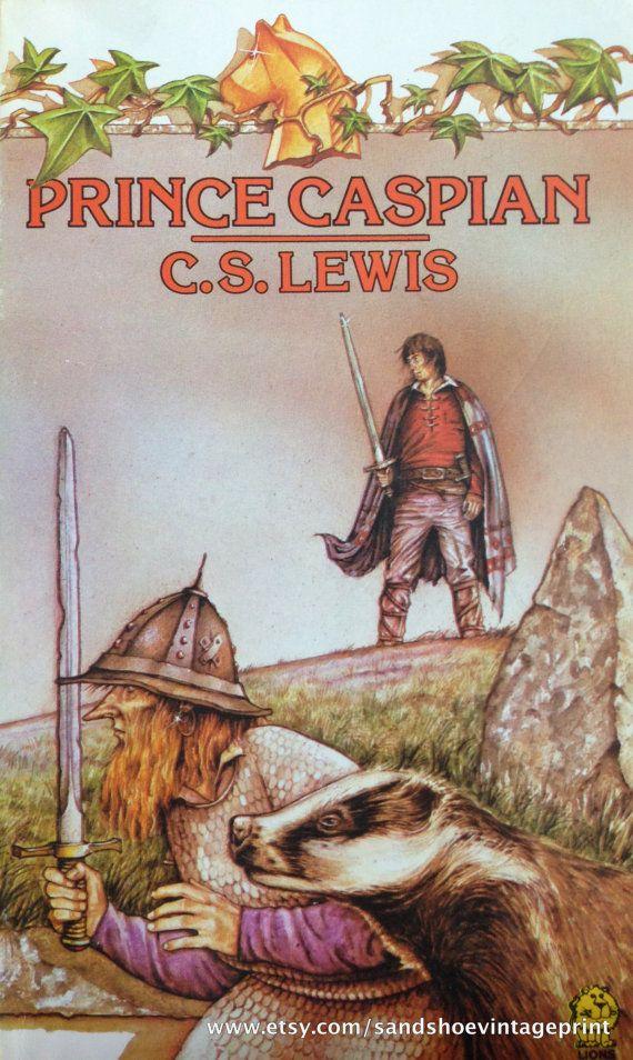 1981 Prince Caspian NARNIA Series by CS LEWIS by sandshoevintage