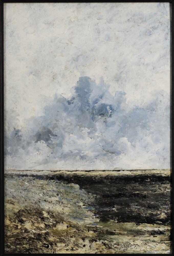 Seascape | August Strindberg | 1894 | Nationalmuseum, Sweden | Public Domain Marked