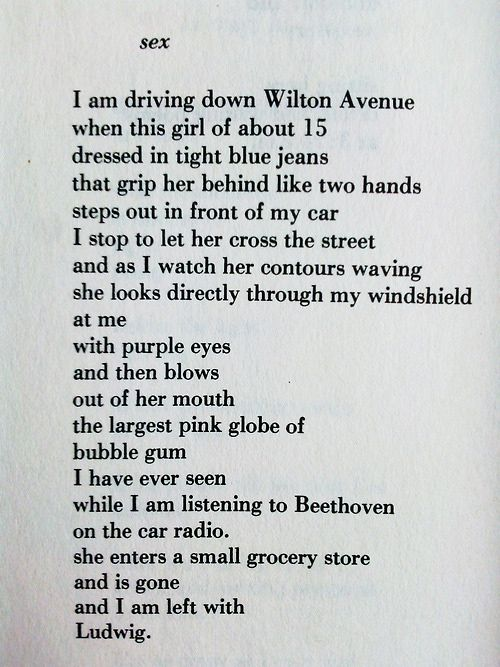 Crazy Sex Poems 51