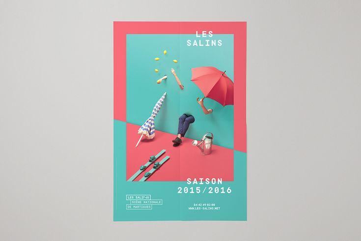 Les Salins 2015-2016 on Behance