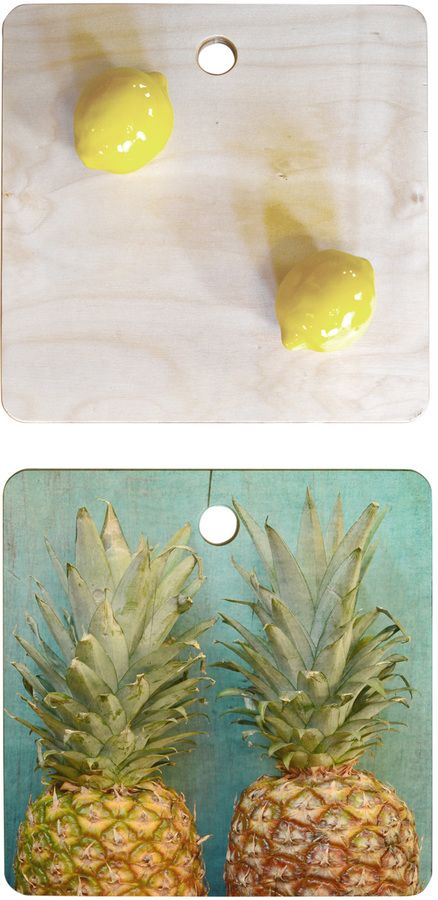 Deny Designs Tropical Square Cutting Board