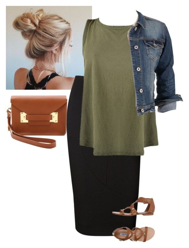 """NoCaption"" by bye18 ❤ liked on Polyvore featuring Victoria Beckham, maurices, Steve Madden and Sophie Hulme"