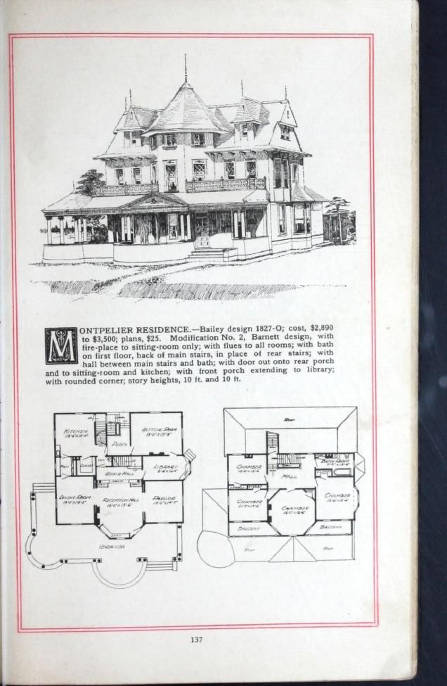 2370 best 1800 39 s 1940 39 s house plans images on pinterest for Victorian era house plans