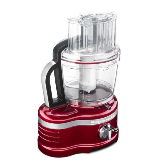 """They say the more attachments it has, the more versatile your processor becomes. Well ladies and gentlemen, they don't get much more versatile than this! 12"""" x 9 3/4"""" x 18"""" KitchenAid food processor comes with the exclusive ExactSlice System that slices from thick to thin with one slide of the external lever.          Watch the video"""