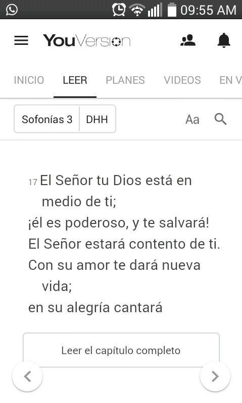 Sofonias 3 :17