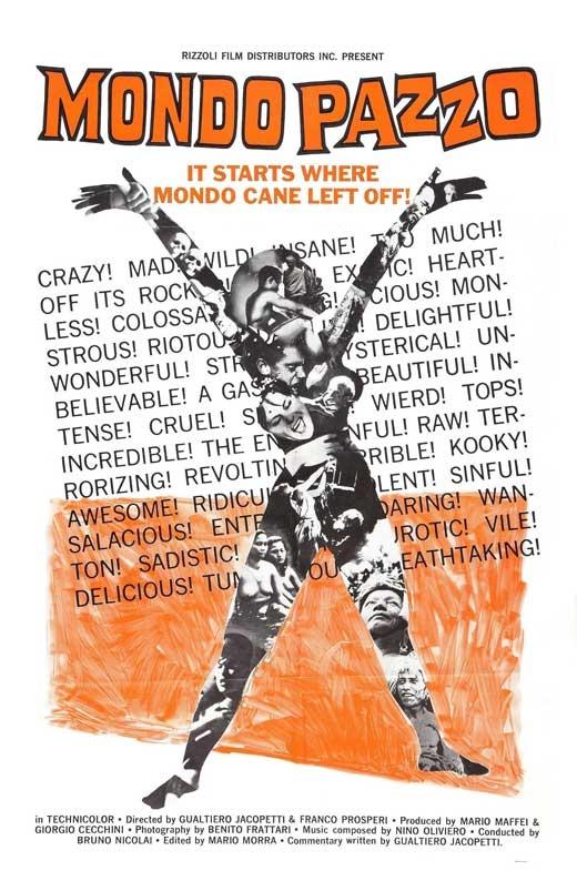 Mondo Pazzo movie poster