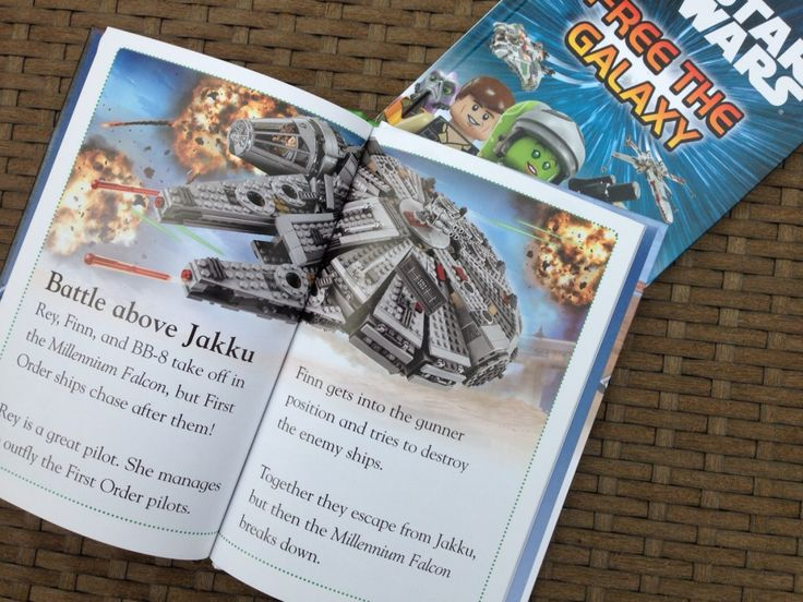 We're crazy about our LEGO DK Readers books. The Star Wars books are our favourites!
